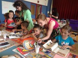 Eileen Ryan Alex Derderian at the Reilly School